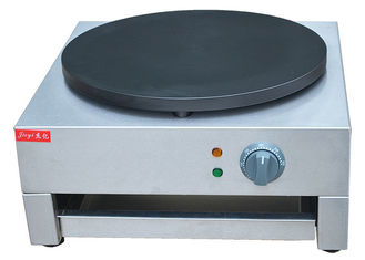 Single Head Electric Crepe Maker Stainless Steel 3KW 220~240V