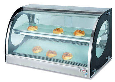 Counter Top Bread Display Cabinet Food Warmer Showcase Electric Heating 40-85°C