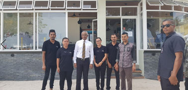 China Maldives New President Mr Solihu Visit Client'S Celeste Hotel fournisseur