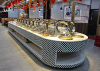 Restaurant Equipment Buffet Stations Fit Chafing Dish Hot Display Buffet