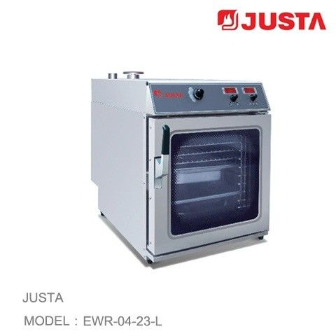 JUSTA Electric Pizza Oven 4 Tray Combi Steamer Digital Control System