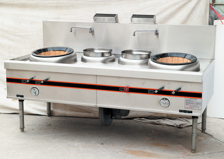 Commercial Gas Two Burner Cooking Range