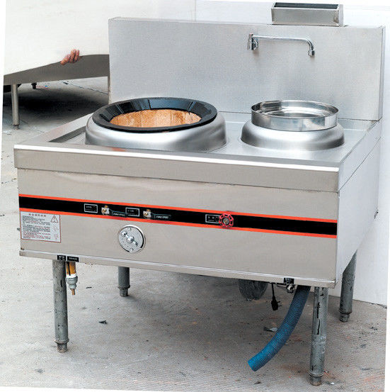 One Burner Commercial Gas Cooking Range / Cooking Stove For Kitchen Equipments