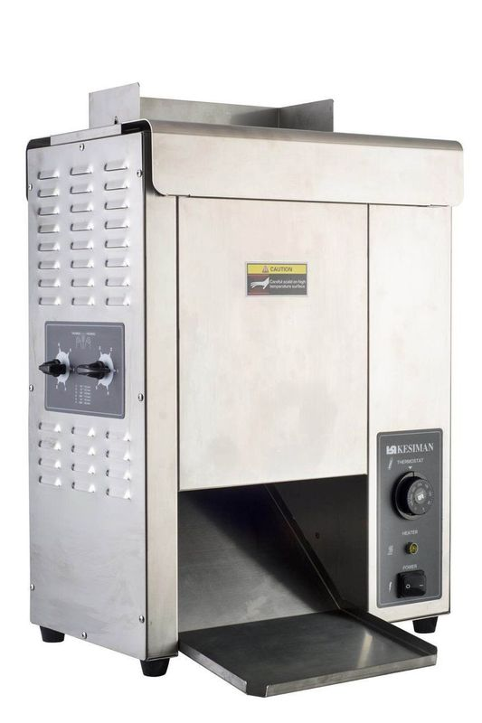 IMO-2621  CHAIN TYPE ELECTRIC BUN TOASTER size 420x250x585mm